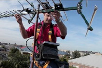 reparar antena